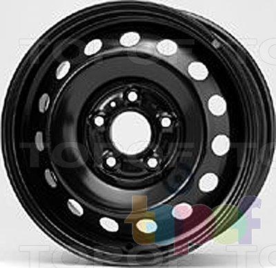 Колесные диски KFZ 6505
