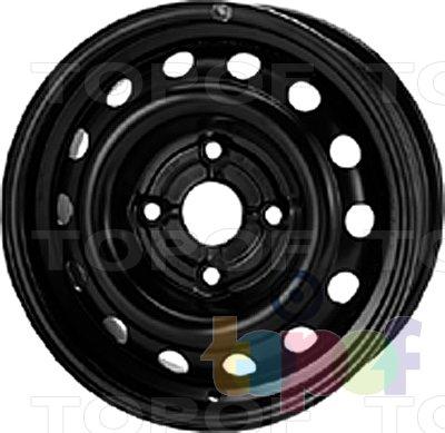 Колесные диски KFZ 6540. Изображение модели #1