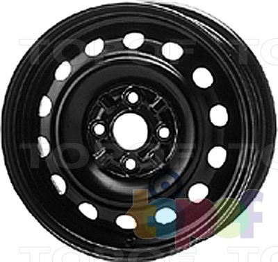 Колесные диски KFZ 6545. Изображение модели #1