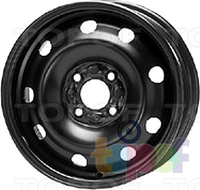 Колесные диски KFZ 6560. Изображение модели #1