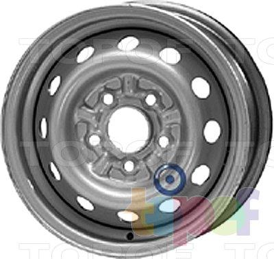 Колесные диски KFZ 6615. Изображение модели #1