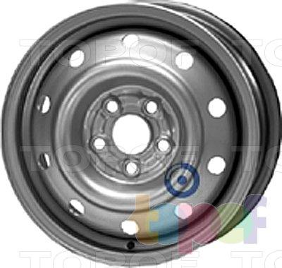 Колесные диски KFZ 6630. Изображение модели #1