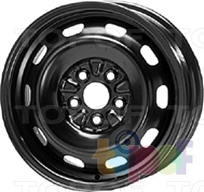 Колесные диски KFZ 6720. Изображение модели #1