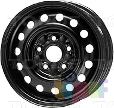 Колесные диски KFZ 6755. Изображение модели #1