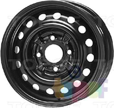 Колесные диски KFZ 6770. Изображение модели #1