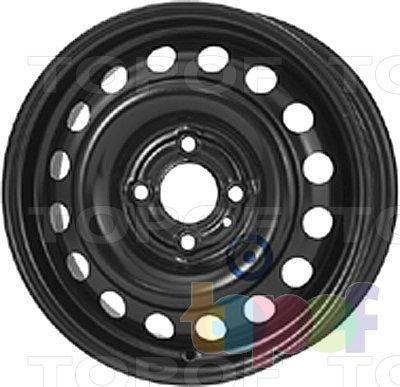 Колесные диски KFZ 6775. Изображение модели #1