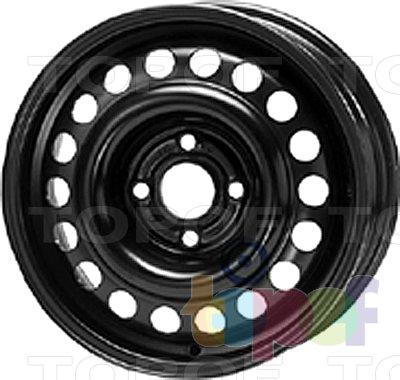 Колесные диски KFZ 6785. Изображение модели #1