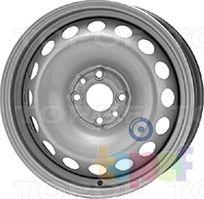 Колесные диски KFZ 6815. Изображение модели #1