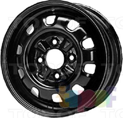 Колесные диски KFZ 6820. Изображение модели #1