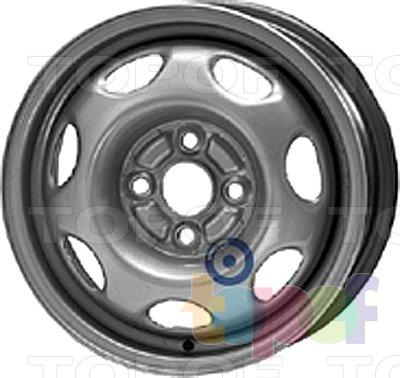 Колесные диски KFZ 6830. Изображение модели #1
