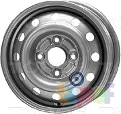 Колесные диски KFZ 6840. Изображение модели #1