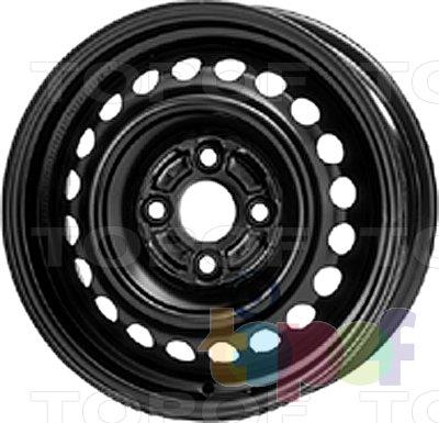 Колесные диски KFZ 6845. Изображение модели #1