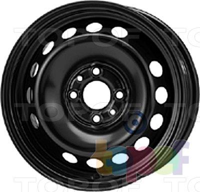 Колесные диски KFZ 6875. Изображение модели #1