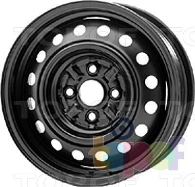Колесные диски KFZ 7010. Изображение модели #1