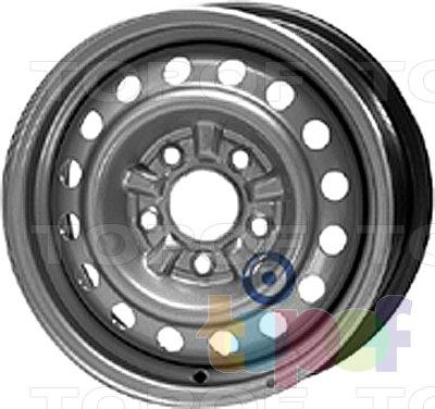 Колесные диски KFZ 7065. Изображение модели #1