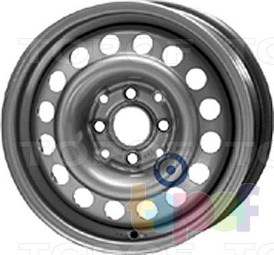 Колесные диски KFZ 7100. Изображение модели #1
