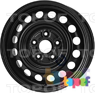 Колесные диски KFZ 7150. Изображение модели #1