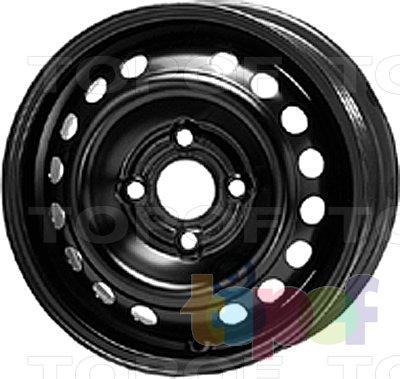 Колесные диски KFZ 7170. Изображение модели #1