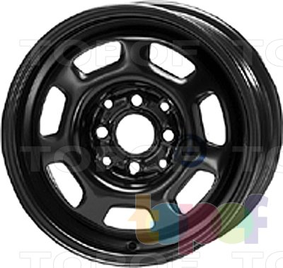 Колесные диски KFZ 7200. Изображение модели #1