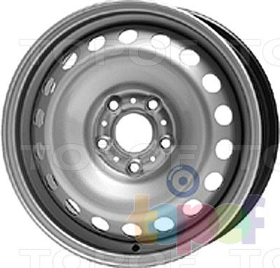 Колесные диски KFZ 7215. Изображение модели #1