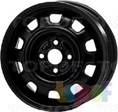 Колесные диски KFZ 7220. Изображение модели #1