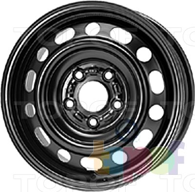 Колесные диски KFZ 7223. Изображение модели #1