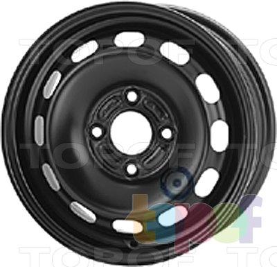 Колесные диски KFZ 7255. Изображение модели #1