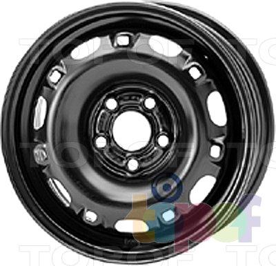 Колесные диски KFZ 7280. Изображение модели #1