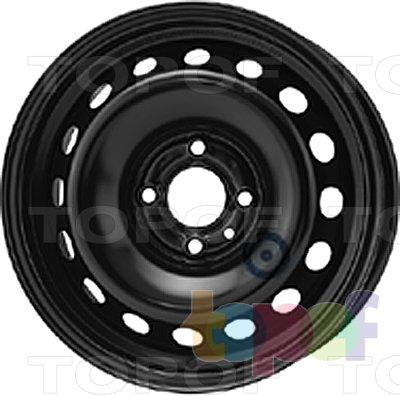 Колесные диски KFZ 7320. Изображение модели #1