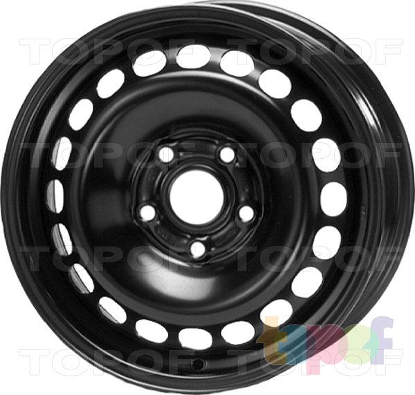 Колесные диски KFZ 7340. Изображение модели #1