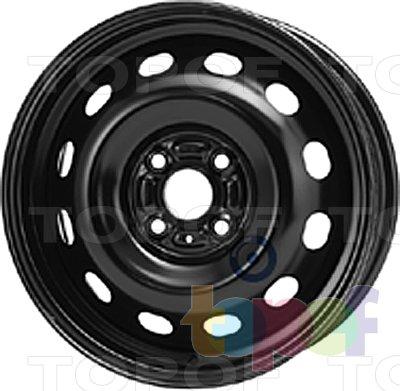 Колесные диски KFZ 7380. Изображение модели #1
