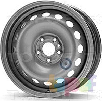 Колесные диски KFZ 7395. Изображение модели #1
