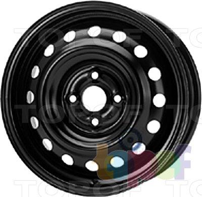 Колесные диски KFZ 7405. Изображение модели #1