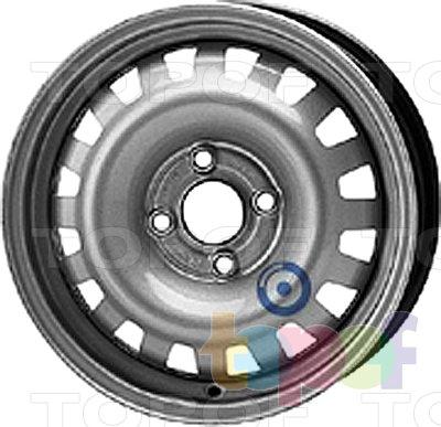 Колесные диски KFZ 7410. Изображение модели #1