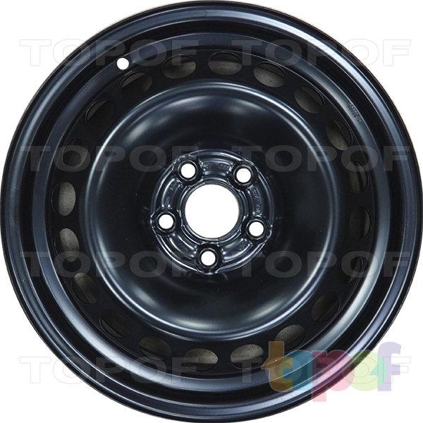 Колесные диски KFZ 7415. Изображение модели #1