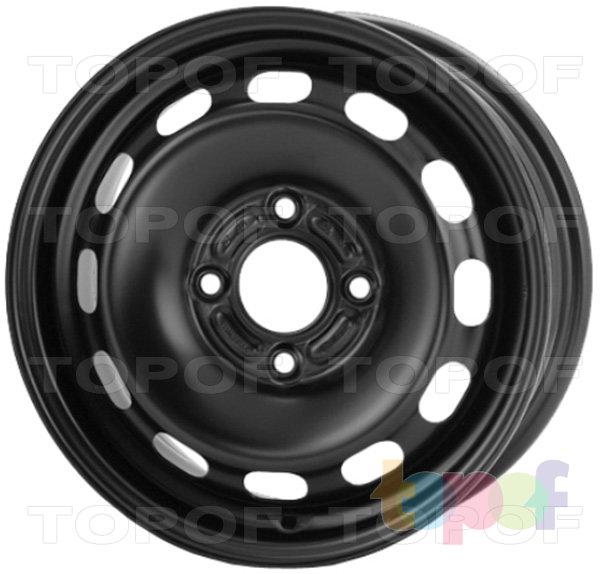 Колесные диски KFZ 7430. Изображение модели #1
