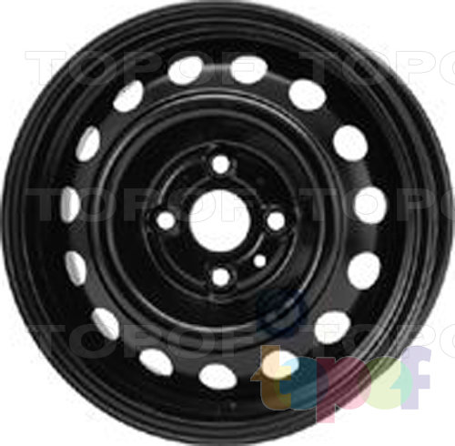 Колесные диски KFZ 7530. Изображение модели #1