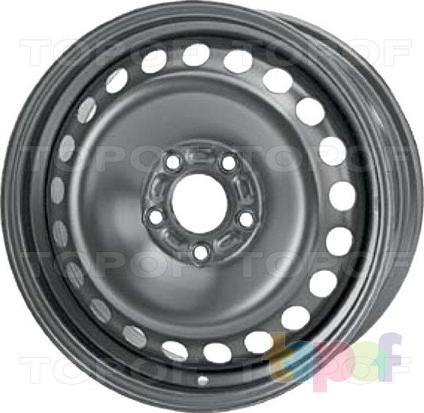 Колесные диски KFZ 7580. Изображение модели #1