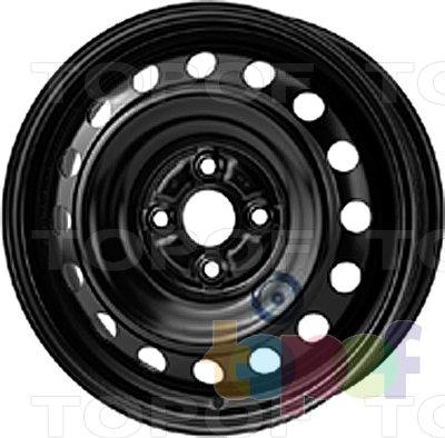 Колесные диски KFZ 7640. Изображение модели #1