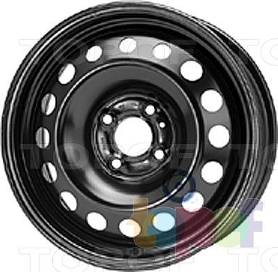 Колесные диски KFZ 7715. Изображение модели #1