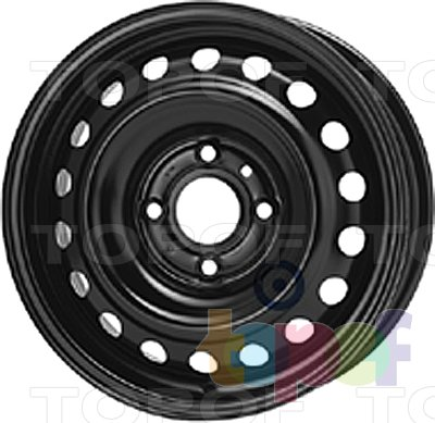 Колесные диски KFZ 7730. Изображение модели #1