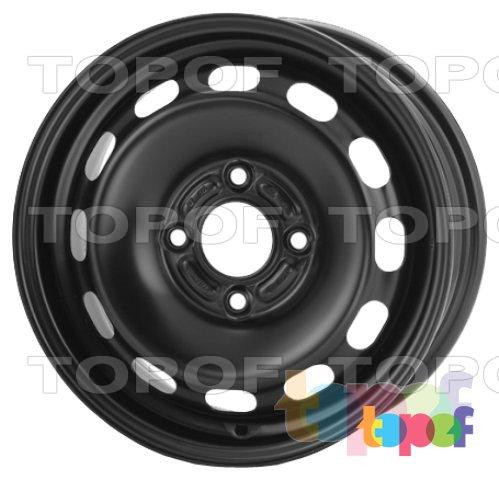 Колесные диски KFZ 7755. Изображение модели #1