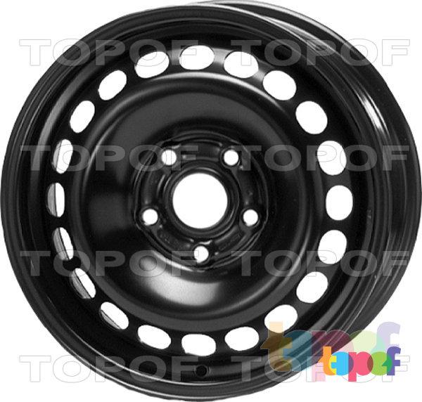 Колесные диски KFZ 7823. Изображение модели #1
