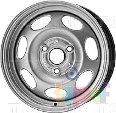 Колесные диски KFZ 7830. Изображение модели #1