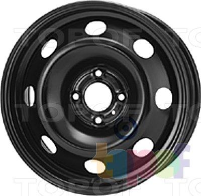 Колесные диски KFZ 7845. Изображение модели #1