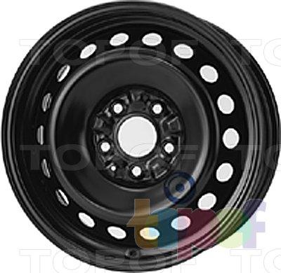 Колесные диски KFZ 7855. Изображение модели #1