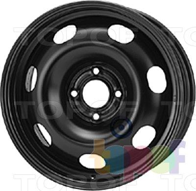 Колесные диски KFZ 7860. Изображение модели #1