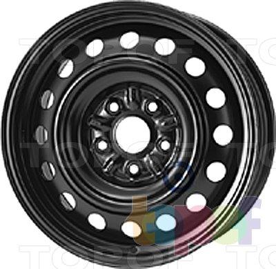 Колесные диски KFZ 7865. Изображение модели #1