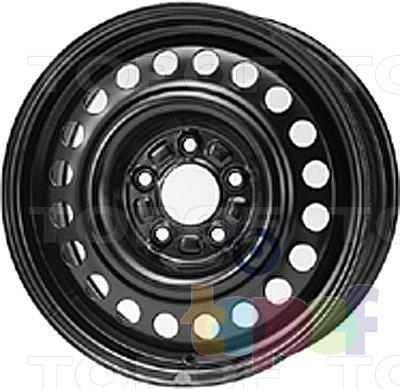 Колесные диски KFZ 7885. Изображение модели #1