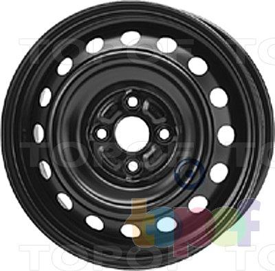 Колесные диски KFZ 7890. Изображение модели #1